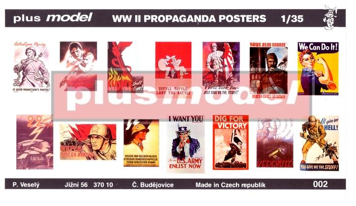 Válečné plakáty II.světová válka