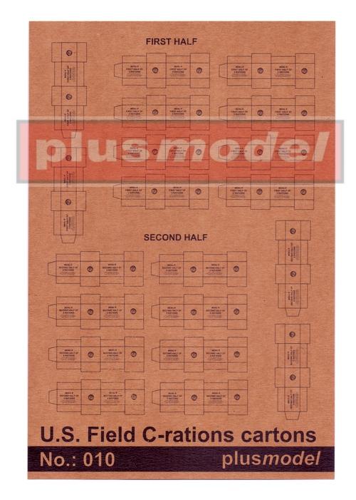 U.S. Field C-Rations Cartons