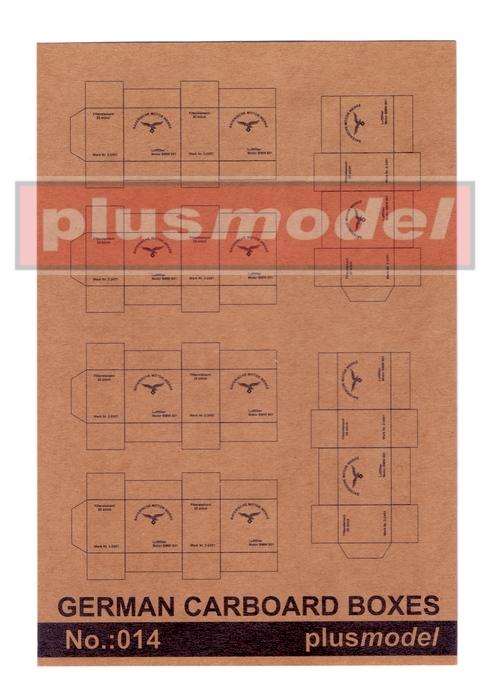 German Cardboard boxes
