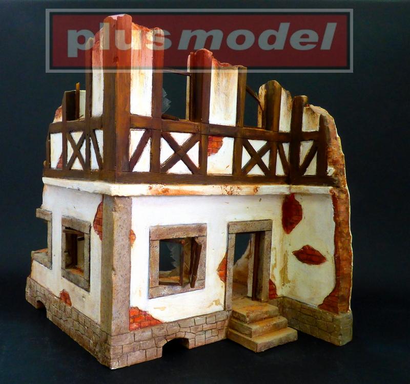 Německý hrázděný dům