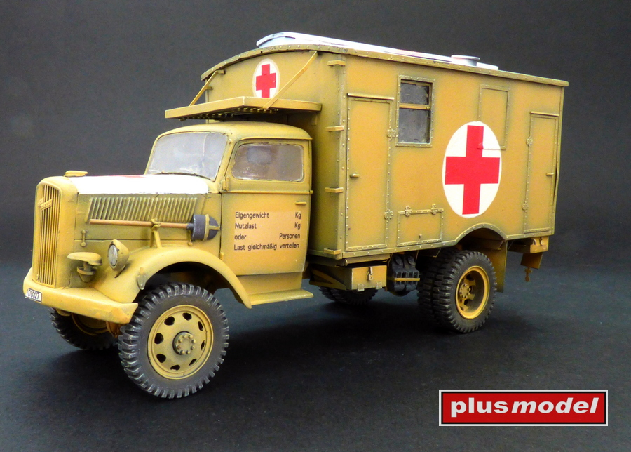 Opel Blitz 4x4 ambulance