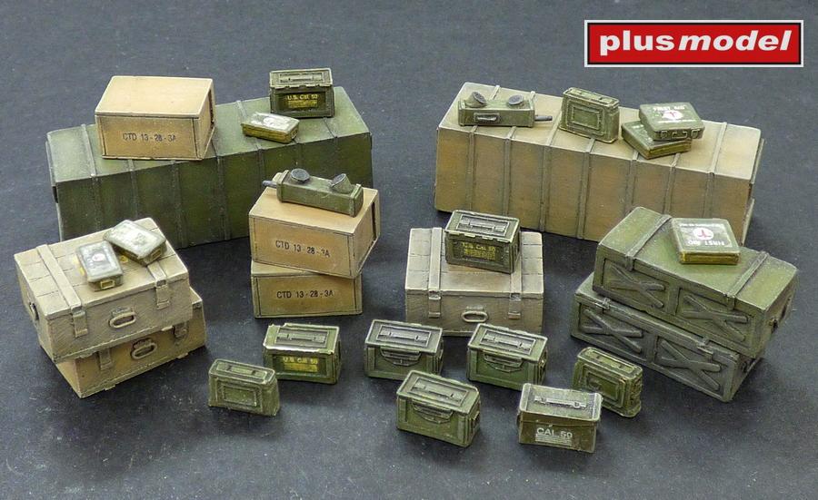 Muniční a přepravní bedny,Spojenci-WWII.