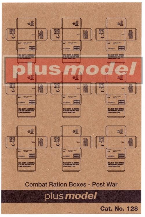 US Cardboard boxes-postwar period