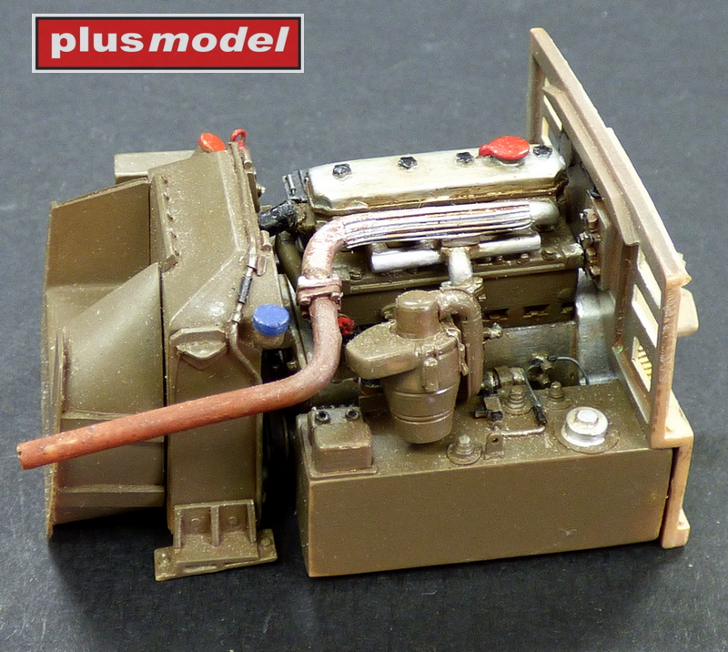 Motorový set pro Pzkpfw 38 (t)