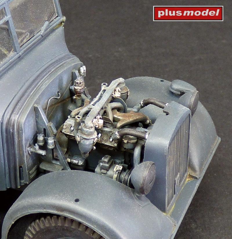 Horch Kfz 15 - motorový set