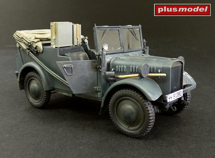 Kfz.2 Stöewer Radio Car