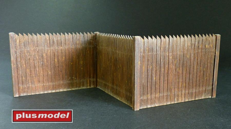Dřevěná ohrada