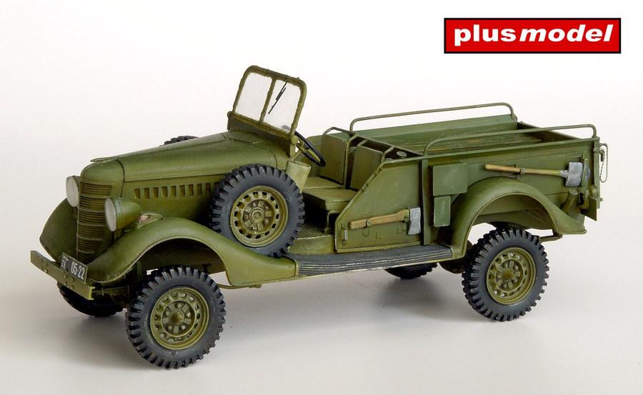 GAZ 61- 417 Gun tractor