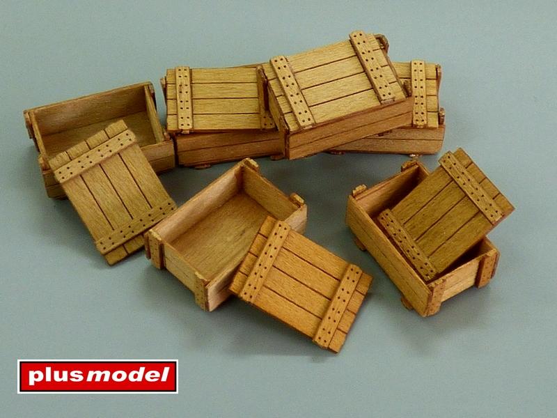 Dřevěné bedny II