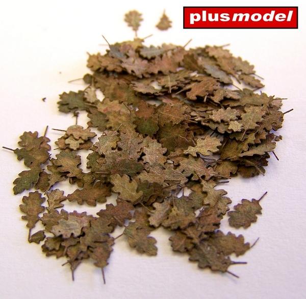 Dubové listí - extra barvy