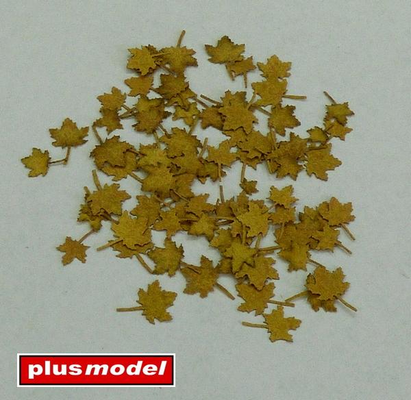 Listí javoru - extra barvy