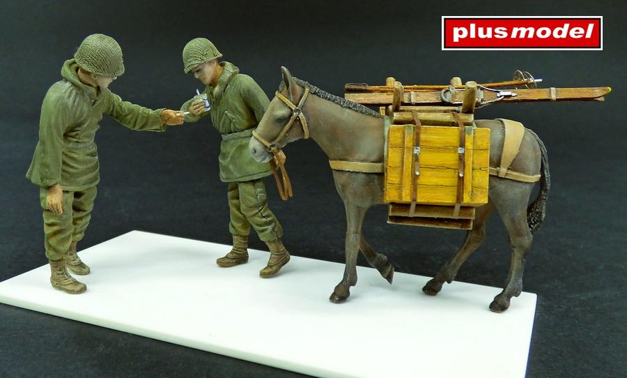 U.S. pěšáci s mulou