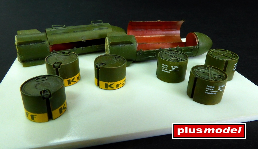 Německé zásobovací bomby