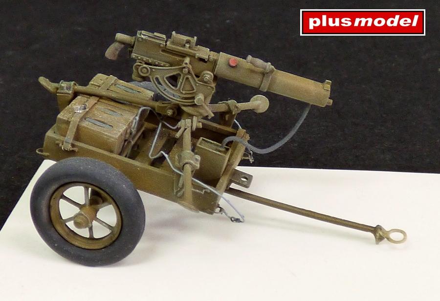U.S. vozík M3A1 s kulometem Browning 0,3