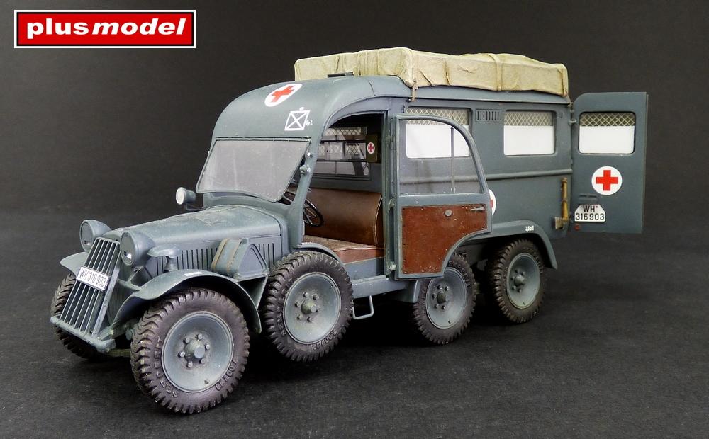 Německá ambulance Kfz. 31