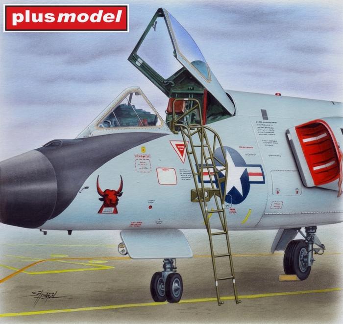 Schůdky pro F-106