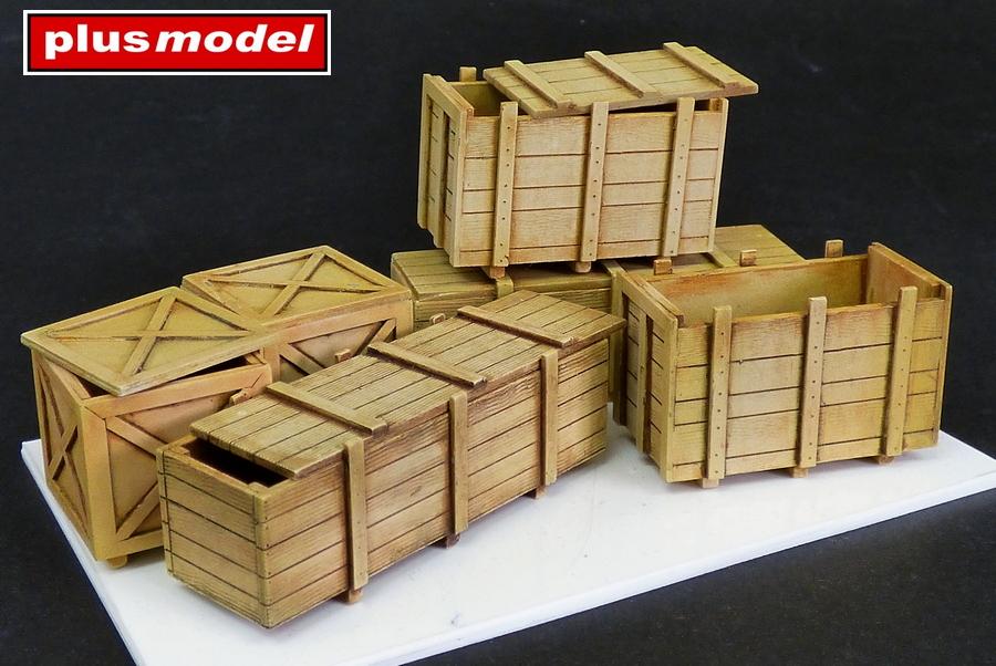 Velké dřevěné bedny