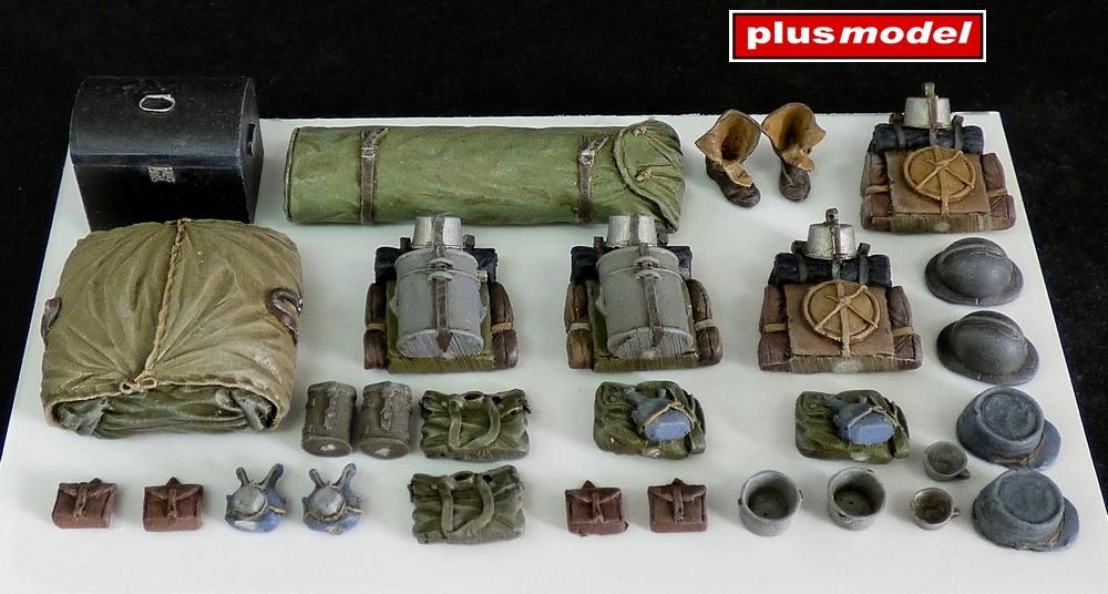 Francouzské batohy WWI.
