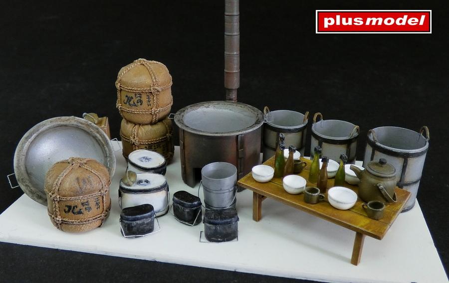 Vybavení japonské polní kuchyně
