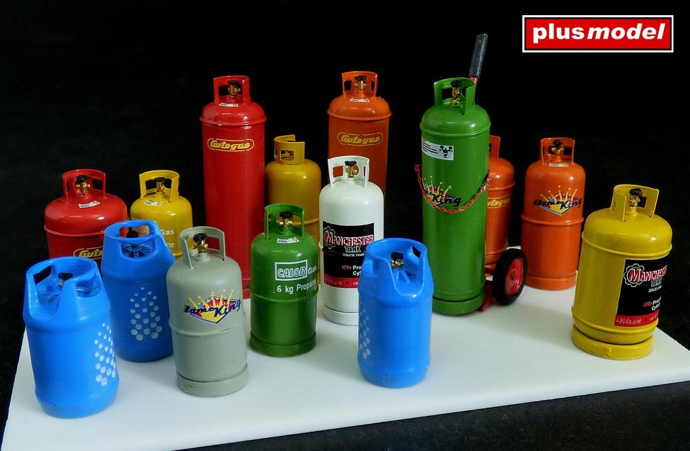 Plynové lahve-velké