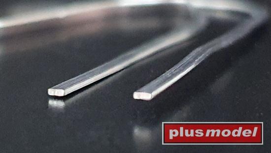 Olověné drátky ploché 0,2 x 1 mm