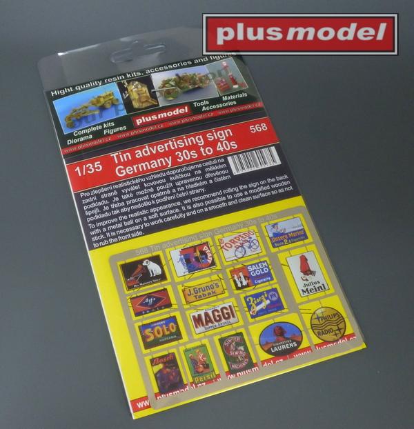 Plechové reklamní cedule Německo 30 a 40leta