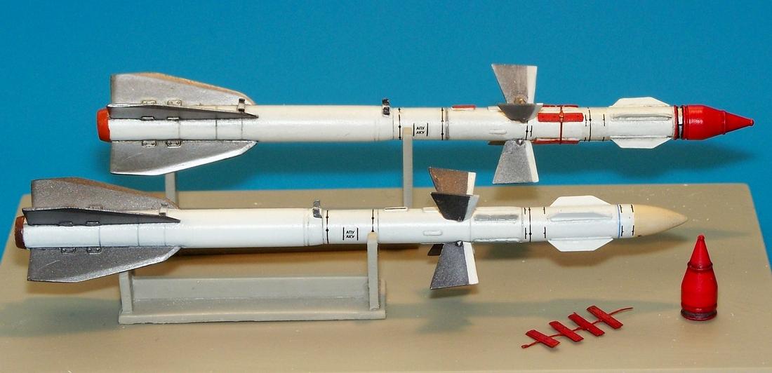 Ruská raketa R-27ER AA-10 Alamo-C