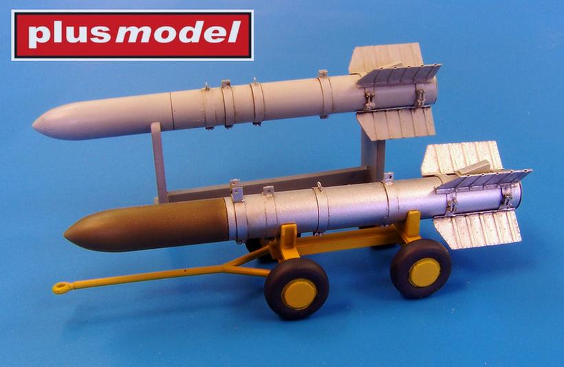 Raketa Tiny Tim - dlouhá