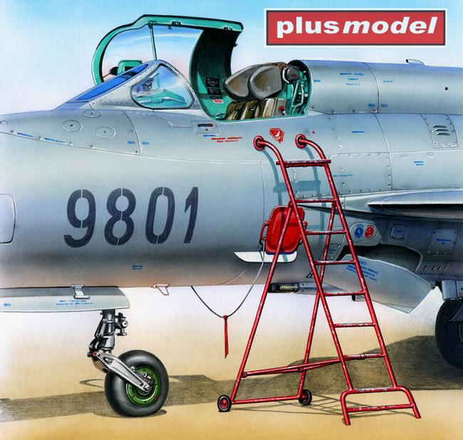 Žebřík pro MiG-21