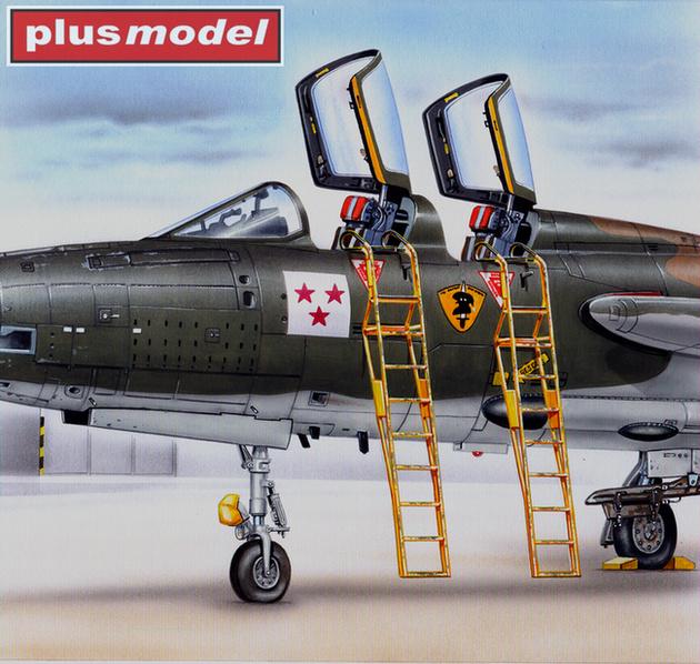Žebřík pro F-105 F/G