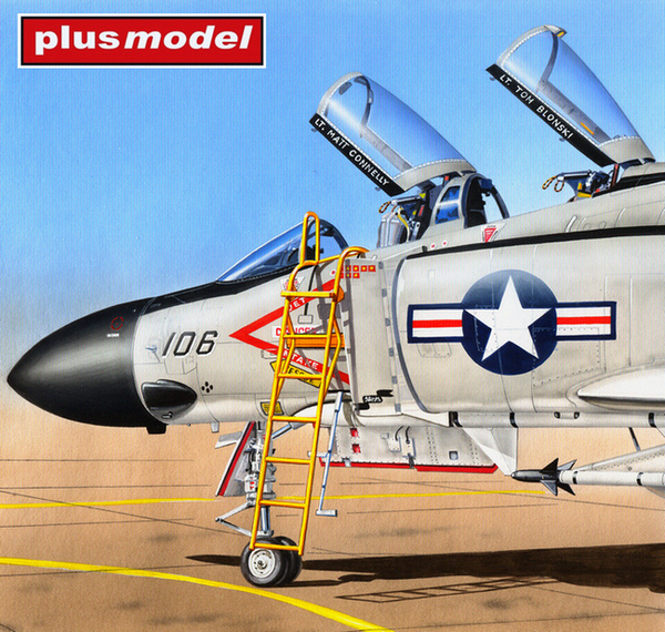 Žebřík pro F-4 Phantom