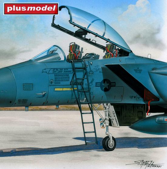 Žebřík pro F-15