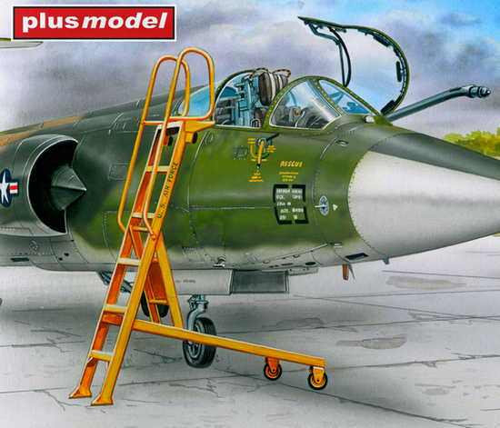 Žebřík pro F-104