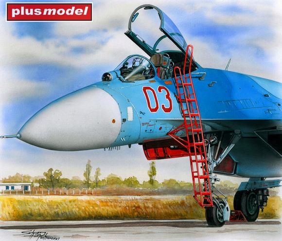 Žebřík pro Su-27