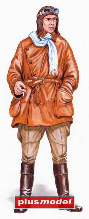 Pilot WWI. Camel