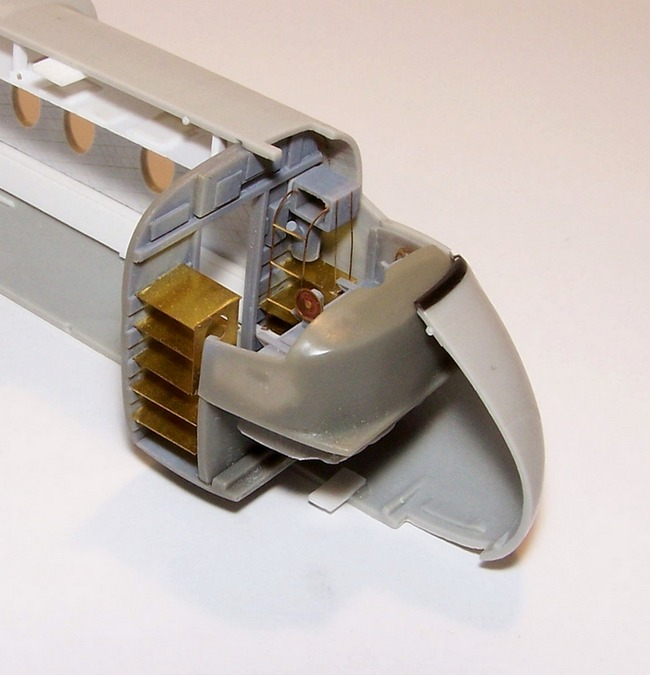 DHC-4 Caribou - Interiér