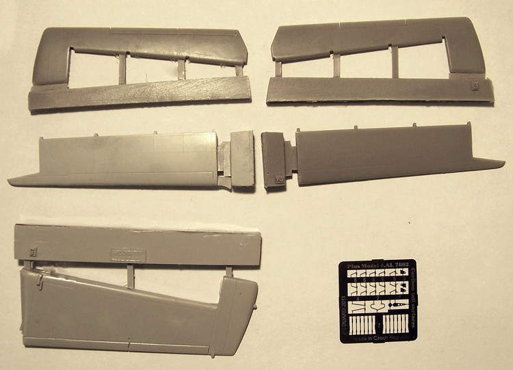 DHC-4 Caribou - Ocasní plochy