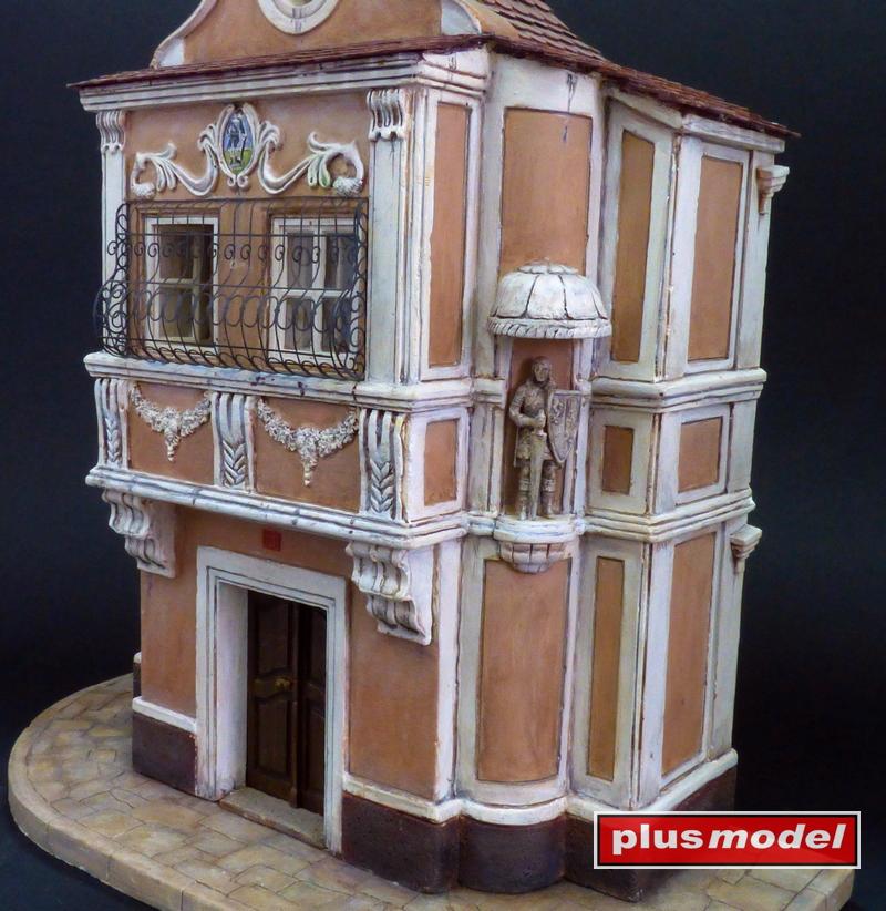 Měšťanský dům - průčelí-3