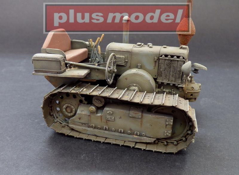 Lanz Bulldog 35 HP, pásový traktor-2