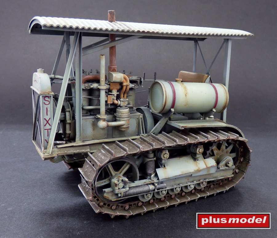 Military Medium Tractor M-1 (Caterpillar D6)-1