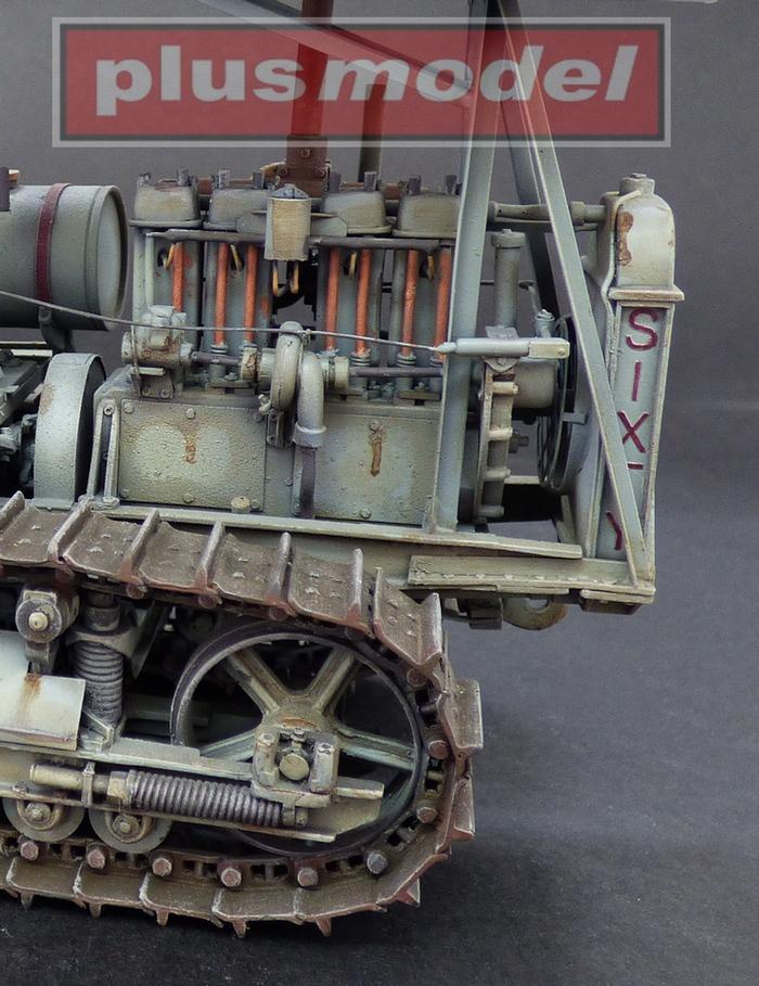 Military Medium Tractor M-1 (Caterpillar D6)-4