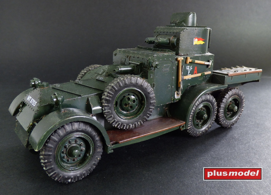 Lanchester Mk.II Armoured car-1