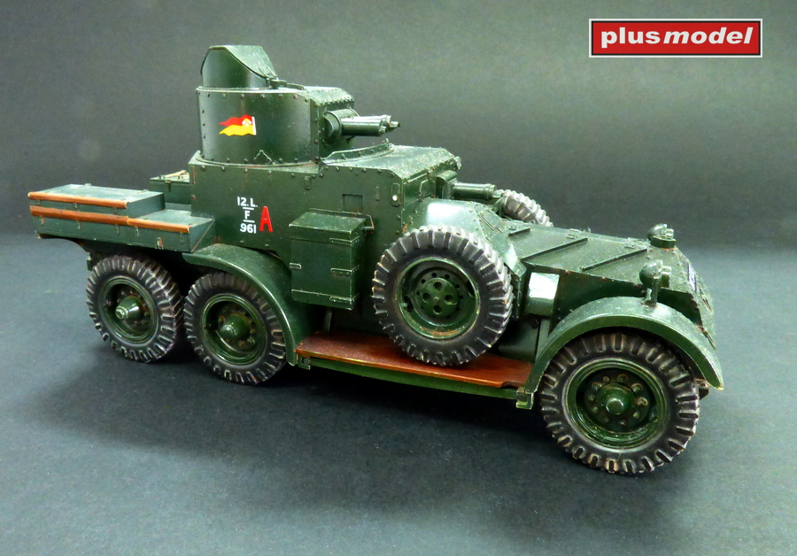 Lanchester Mk.II Armoured car-2