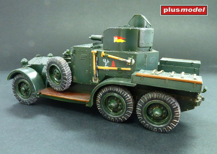 Lanchester Mk.II Armoured car-3