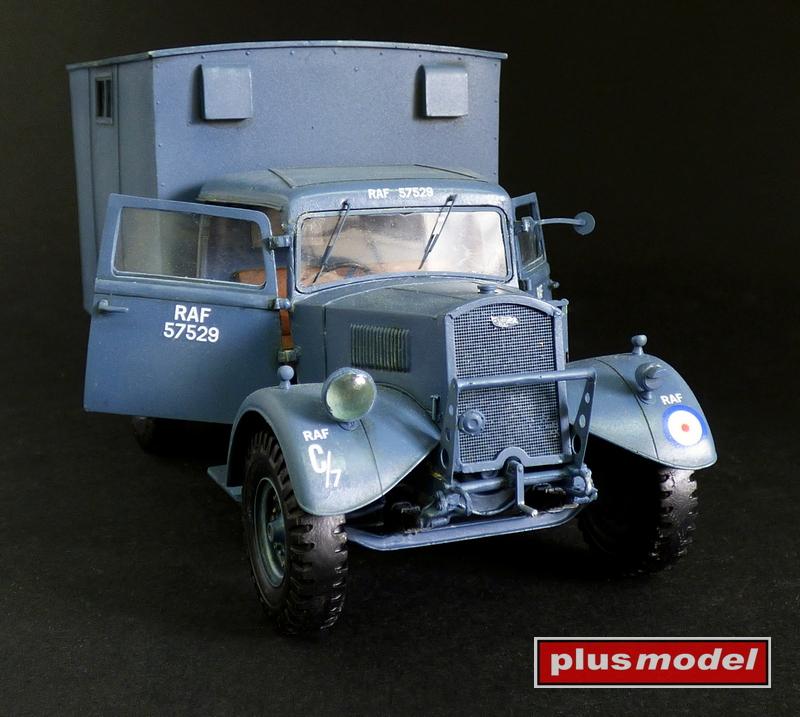 Fordson WOT 3 dílna RAF-1