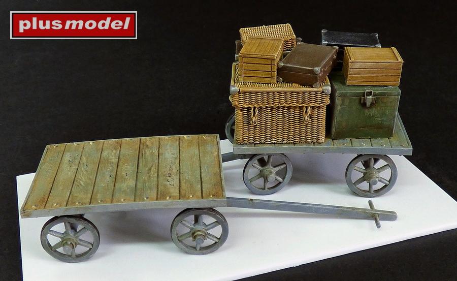 Nádražní vozík na zavazadla-1