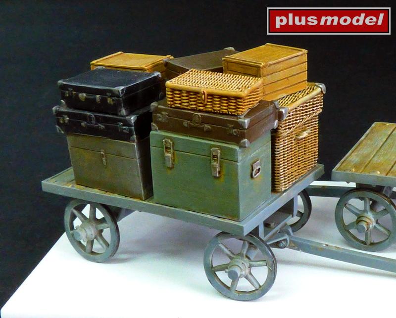 Nádražní vozík na zavazadla-2