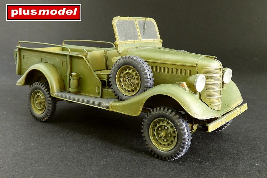 GAZ 61- 417 Gun tractor-2