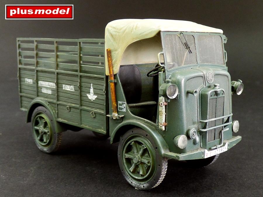 Italský lehký nákladní vůz SPA 39-1