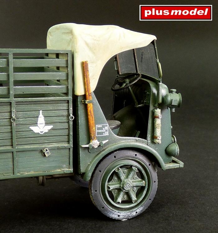 Italský lehký nákladní vůz SPA 39-2